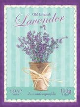 Lavender Soap Metal Wall Sign (4 sizes)