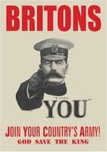 Lord Kitchner WWI Recruitment Poster A3
