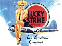Lucky Strike Cigarettes Metal Wall Sign (4 sizes)