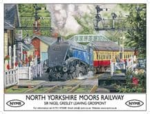 North Yorkshire Moors Railway Metal Wall Sign (4 sizes)