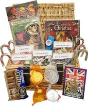 Nostalgic Christmas Hamper with Memorabilia and Sweets