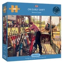 On Early Shift - 500 Piece Jigsaw Puzzle