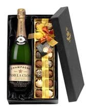 Personalised Champagne and  Chocolates Gift Set