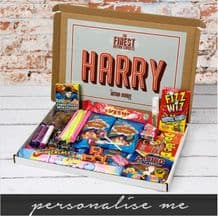 Personalised Retro Sweet Mail Order Box