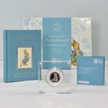 Peter Rabbit Coin and Book Gift Set