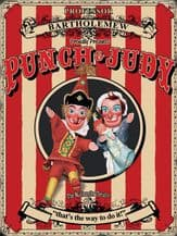 Punch and Judy Metal Wall Sign (4 sizes)