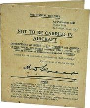 RAF - In Case of Capture Guide