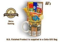Retro Gaming Mug with/without a 48K selection of 80's retro sweets.