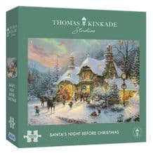 Santa's Night Before Christmas 1000 Piece Gibsons Jigsaw Puzzle