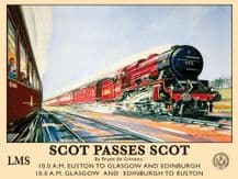 Scot Passes Scot Metal Wall Sign (3 sizes)