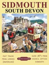 Sidmouth Railway Poster Metal Wall Sign (4 sizes)