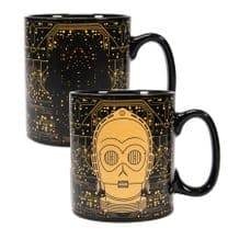 Star Wars Heat Changing Mug C-3PO