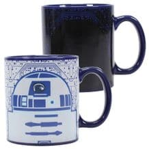 Star Wars Heat Changing Mug R2-D2