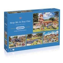 Stop Me and Buy One- 4 x 500 piece Jigsaw Puzzles