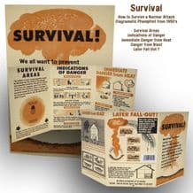 Survival during a Nuclear Attack - 1950's Pamphlet