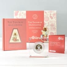 Tailor Of Gloucester Coin and Book Gift Set