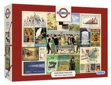 TFL Heritage Posters- 1000pc Jigsaw Puzzle