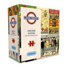TFL Heritage Posters- 500pc Jigsaw Puzzle