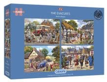 The Evacuees - 4 x 500 piece  Jigsaw Puzzles