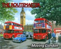The Routemaster Bus Metal Wall Sign (4 sizes)