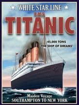 Titanic White Star Liner Metal Wall Sign (4 sizes)