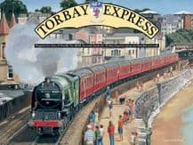 Torbay Express Railway Poster Metal Wall Sign (4 sizes)