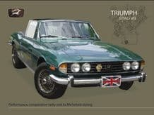 Triumph Stag V8 Metal Wall Sign (4 sizes)