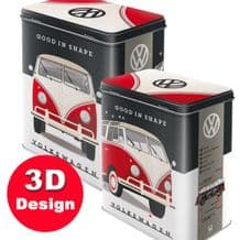 VW Good in Shape - Embossed Storage Tin