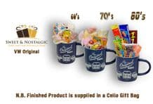 VW  Originals Mug with/without a selection of 1960's, 70's or 1980's Retro Sweets