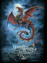 Whitby Wyrm Metal Wall Sign (4 sizes)