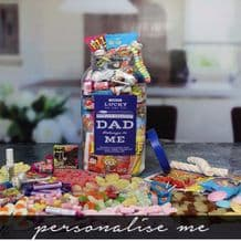 World's Greatest Dad Sweets.. Personalised Sweetie Jar (Large)