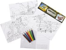 World War One Educational Colouring Postcards