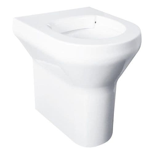 DVS V2 High Security Back-to-Wall Floorstanding Disabled Height WC Pan