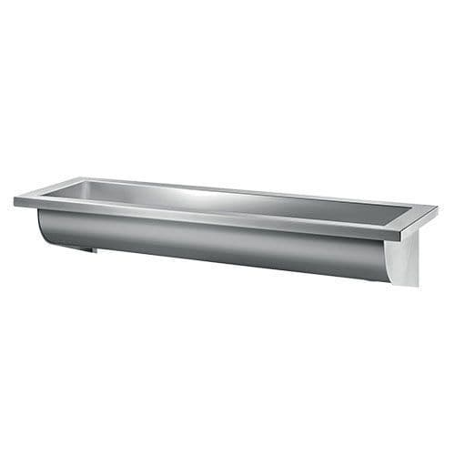 Delabie 120240 CANAL 600mm Wash Trough (No Tap Holes)