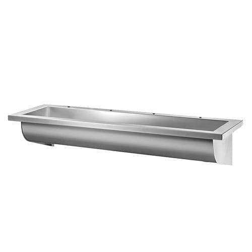 Delabie 121300 CANAL 2400mm Wash Trough (4 Tap Holes)