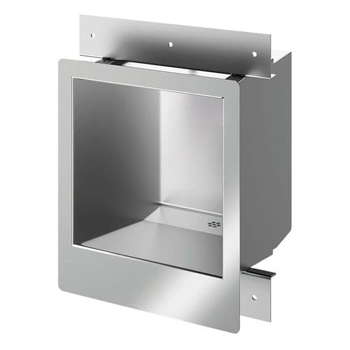 Delabie 160330 COMMISSARIAT Wall-Recessed Washbasin