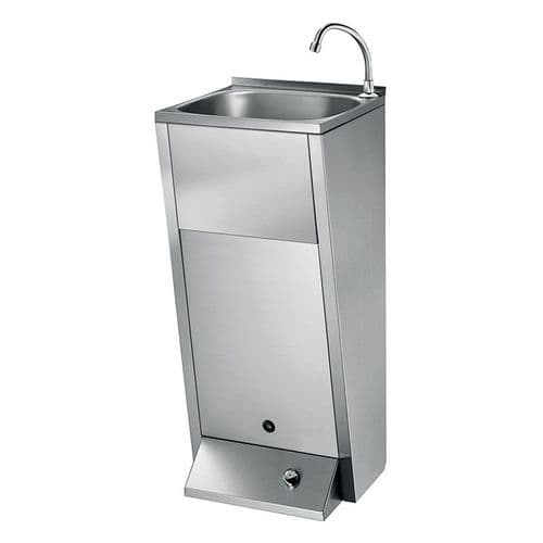 Delabie 180300 SXL Floorstanding Foot-Operated Washbasin