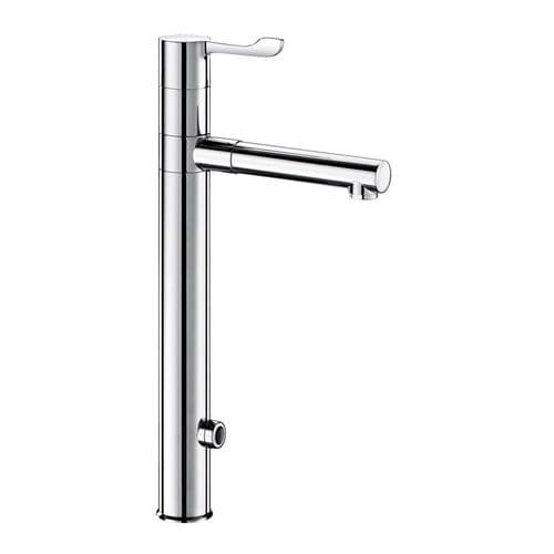 Delabie 20870T3 TEMPOMATIC MIX Tall Deck-Mounted Infrared Sensor Sink Mixer +Removable BIOCLIP Spout