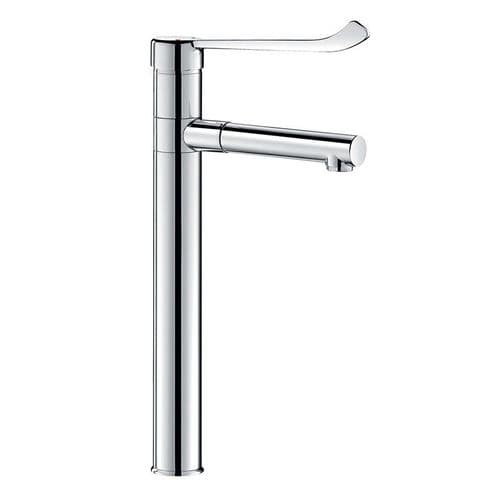 Delabie 2870T3 Tall Deck-Mounted Manual Sink Mixer with Removable BIOCLIP Spout
