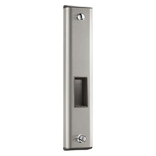 Delabie 790204 TEMPOMIX Push Time-Flow Shower Panel - Stainless Steel