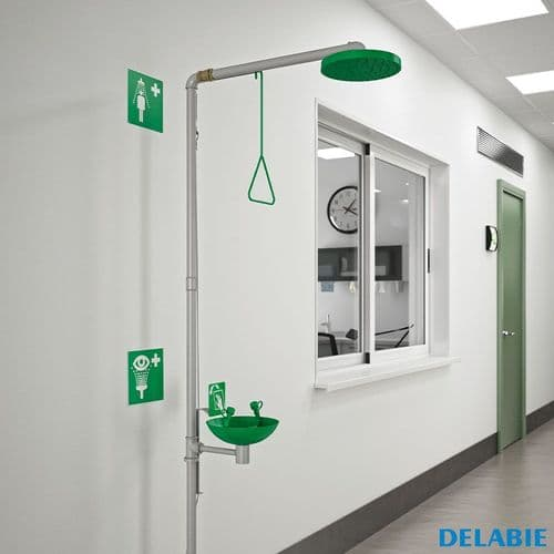 Delabie Safety Showers & Eye Wash Stations