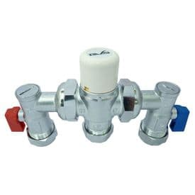 DVS 15/22mm TMV3 Thermostatic Mixing Valve