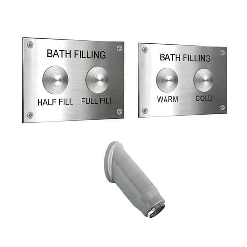 DVS Bath Filling Plate Pack with High Security Spout