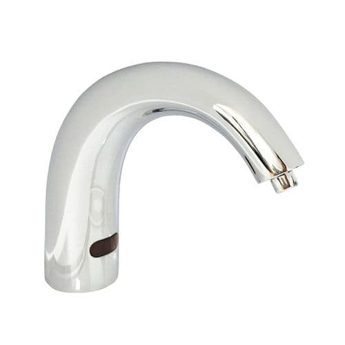 DVS SD01-002 Swan Neck No-Touch Deck-Mounted Soap Dispenser with 2L Bottle
