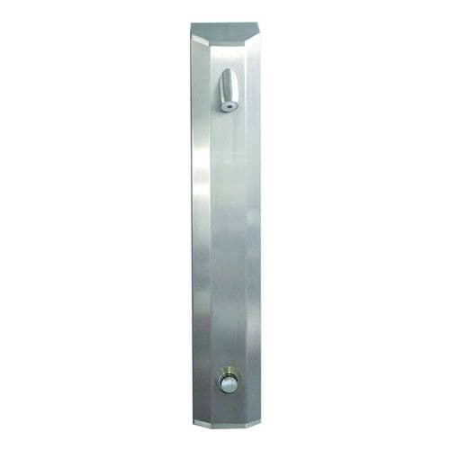 DVS Standard-Height Push Time-Flow Tower Shower with High Security Showerhead