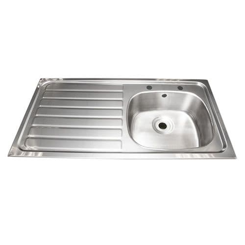 Franke B20085L Inset Multi-Purpose Sink with Left-Hand Drainer