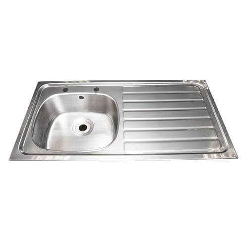 Franke B20085R Inset Multi-Purpose Sink with Right-Hand Drainer