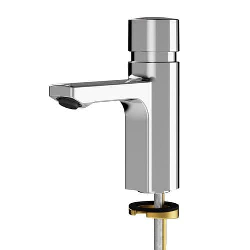Franke F5S F5SV1001 Deck-Mounted Push Time-Flow Tap