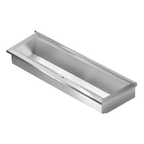 Franke PLANOX PL6-UK 600mm Stainless Steel Wash Trough (No Tap Holes)