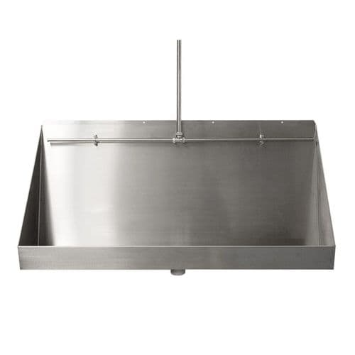 Franke Wall-Mounted Urinal Troughs